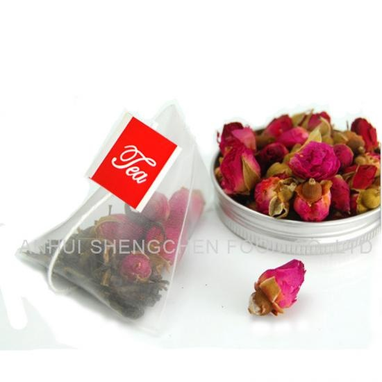 pyramid rose flower teabags